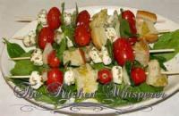 Bread - Brushcetta -  Brushcetta Kabobs