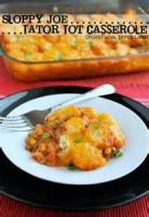 Casseroles - Beef -  Sloppy Tots