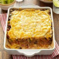 Casseroles - Beef -  Taco Lasagna