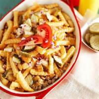 Casseroles - Beef Cheeseburger And Fries Casserole