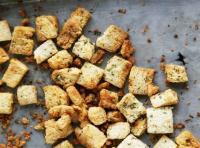 Bread - Croutons Seasoned