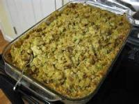 Bread - Dressing/stuffing -  Cornbread Dressing