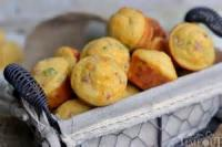 Bread - Muffins -  Ham And Cheese Muffins