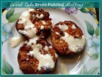 Bread - Muffins -  Carrot Cake Muffins