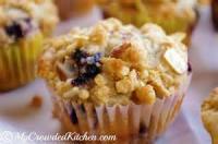 Bread - Muffins -  Blueberry-almond Streusel Muffins