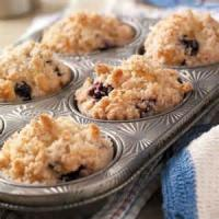 Bread - Muffins -  Blueberry-streusel Muffins