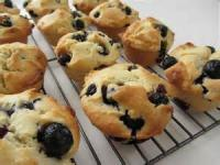 Bread - Muffins -  Blueberry-yogurt Muffins