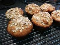 Bread - Muffins -  Pear-oatmeal Muffins