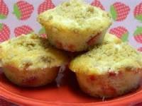 Bread - Muffins -  Strawberry Streusel Muffins