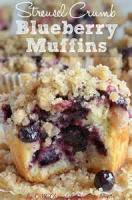 Bread - Muffins Raspberry Or Blueberry Crumb Muffins