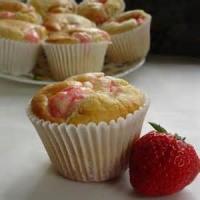 Bread - Muffins Strawberry Cheesecake Muffins