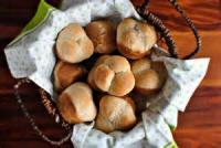 Bread - Rolls -  Cloverleaf Honey-wheat Rolls