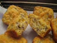 Bread - Muffins Sausage And Cheese Muffins