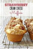 Bread - Muffins Strawberry Cream Cheese Muffins
