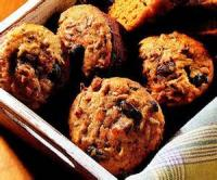 Bread - Muffins Spiced Carrot Bran Muffins