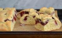 Bread - Scones -  Cherry Almond Scones