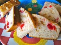 Bread - Sweet Bread Cherry Eggnog Bread