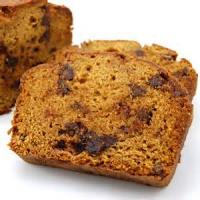 Bread - Sweet Bread Chocolate Chip Pumpkin Bread