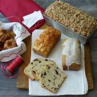 Bread - Sweet Bread -  Holiday Poppy Seed Bread With Orange Glaze