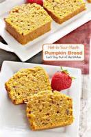 Bread - Sweet Bread Melt In Your Mouth Pumpkin Bread