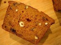 Bread - Sweet Bread Pumpkin Hazelnut Quick Bread
