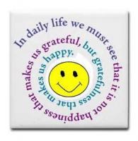 Matter For Gratitude