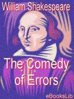 The Comedy Of Errors - DRAMATIS PERSONAE
