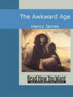 The Awkward Age - BOOK FIRST - LADY JULIA - Chapter I