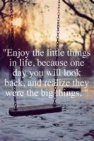 What Little Things!