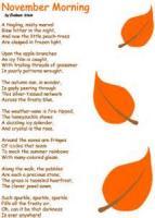 In November (sonnet)