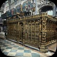 The Cradle Tomb In Westminster Abbey