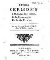 Three Sermons, Three Prayer - On Mutual Subjection