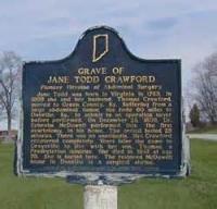 'restland' Written In The Danville (ky.) Cemetery