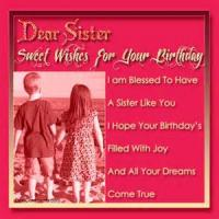 To My Sister On Her Birthday