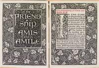 The Friendship Of Amis And Amile