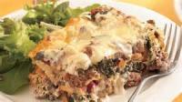 Casseroles - Beef Spinach Lasagna Casserole