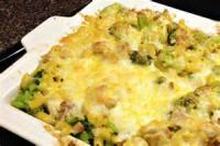 Casseroles - Chicken -  Chicken Broccoli Casserole With Spaghetti