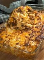 Casseroles - Beef Pasta Bake