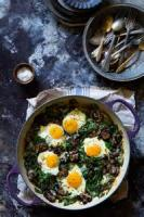 Casseroles - Breakfast -  Baked Eggs