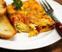 Casseroles - Breakfast -  Italian Garden Egg Bake