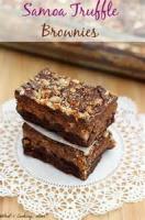 Cookies - Brownies -  Truffle Brownies