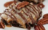 Cookies - Brownies -  Frosted German Chocolate Brownies