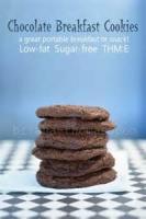 Cookies - Low Fat Breakfast Cookies