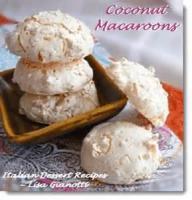 Cookies - Drop Cookies Coconut Macaroons