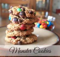 Cookies - Drop Cookies Monster Cookies Monster Recipe
