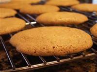 Cookies - Drop Cookies Orange Almond Peel Macaroons