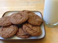 Cookies - Formed Cookies Amish Molasses Cookies