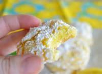 Cookies - Formed Cookies Cake Mix Lemon Crisp