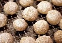 Cookies - Formed Cookies Pecan Puffs