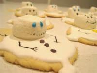 Cookies - Formed Cookies Snowmen